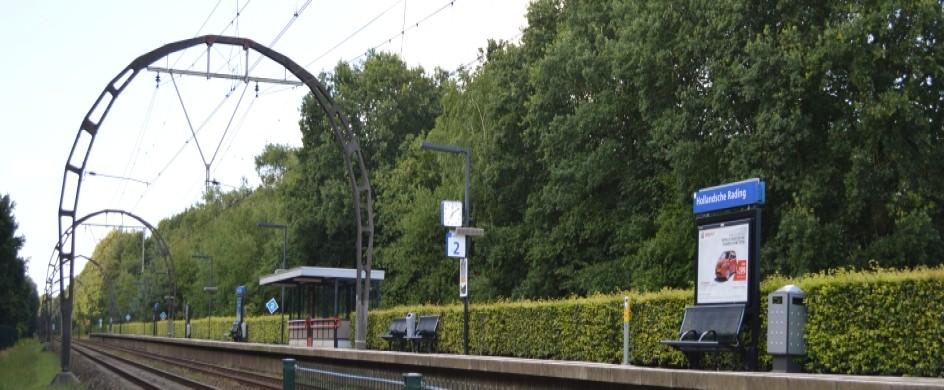 Spoor in Hollandse Rading