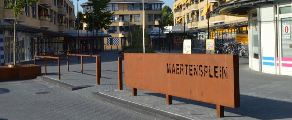 Winkelcentrum in Maartensdijk
